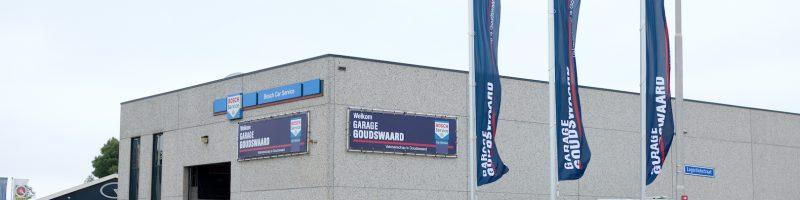 Sfeerfoto pand Garage Goudswaard in 's Heerenbergh