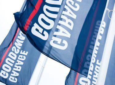 Vlag Garage Goudswaard
